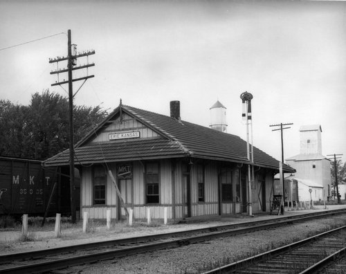 Missouri -Kansas-Texas Railroad depot, Erie, Kansas - Page