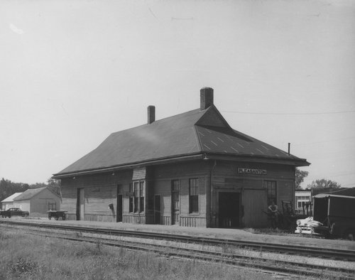 St. Louis-San Francisco Railway depot, Pleasanton, Kansas - Page
