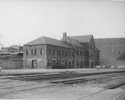 Missouri Pacific and Union Pacific Railroad depot, Leavenworth, Kansas - Page
