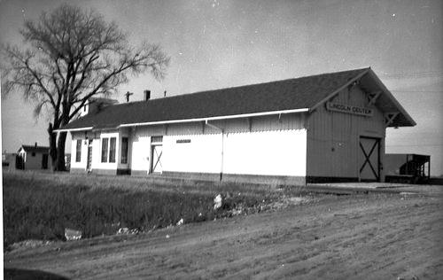 Union Pacific Railroad Company depot, Lincoln Center, Kansas - Page