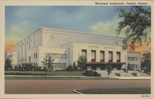 Municipal Auditorium, Topeka, Kansas - Page