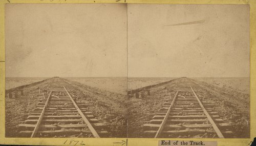 Atchison,Topeka & Santa Fe Railway track construction east of Hutchinson, Kansas - Page