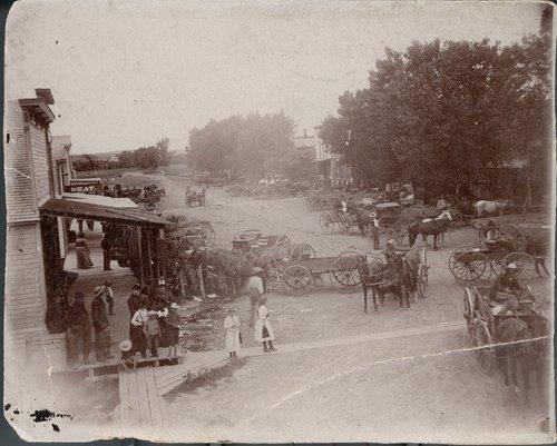 Main business street, Almena, Kansas - Page