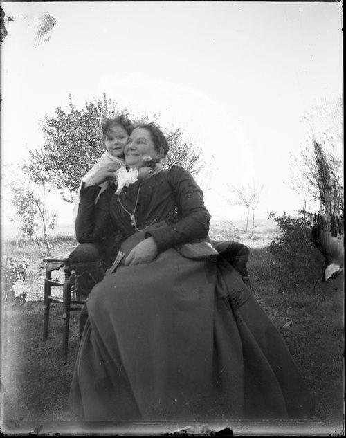 Mary E. Simpson and Pauline Montgomery, Hoxie, Kansas - Page