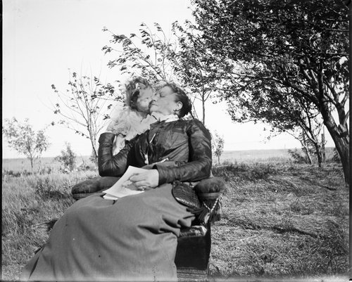 Mary E. Simpson and Pauline Montgomery, Hoxie, Kansas - Page