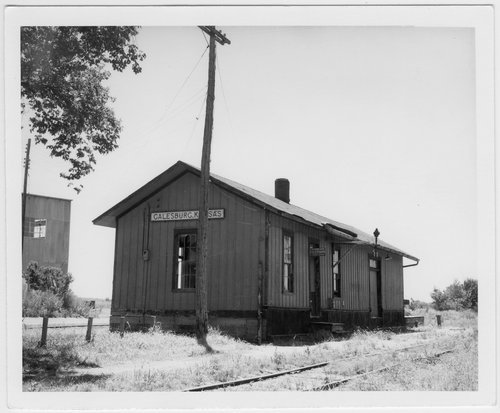 Missouri-Kansas- Texas Railroad depot, Galesburg, Kansas - Page