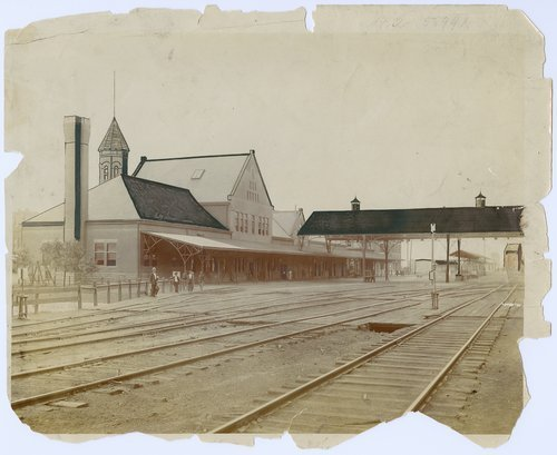 Union depot in Atchison, Kansas - Page