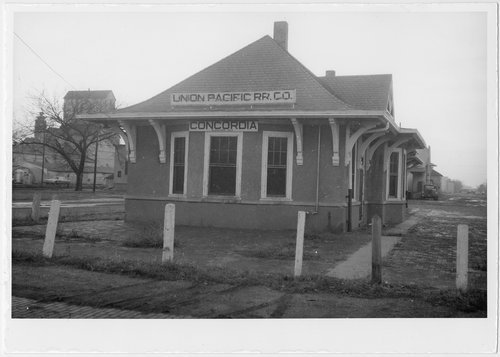 Union Pacific Railroad Company depot, Concordia, Kansas - Page