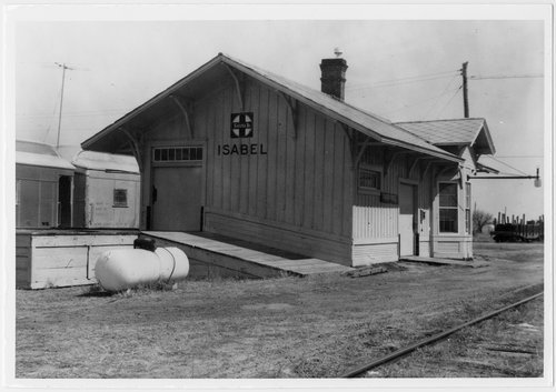 Atchison, Topeka and Santa Fe Railway Company depot, Isabel, Kansas - Page