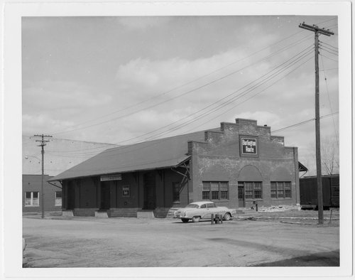 Chicago, Burlington and Quincy Railroad freight depot, Atchison, Kansas - Page