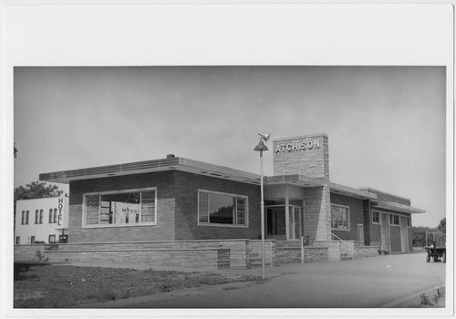 Atchison, Topeka and Santa Fe Railway Company depot, Atchison, Kansas - Page
