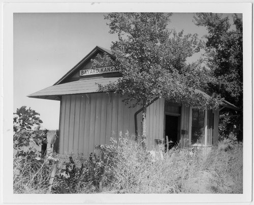 Missouri -Kansas -Texas Railroad depot, Bayard, Kansas - Page