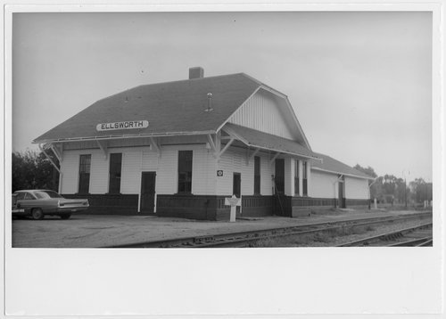 Union Pacific Railroad Company depot, Ellsworth, Kansas - Page