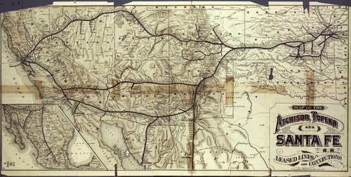 Three routes to the Pacific Coast via the Atchison, Topeka and Santa Fe Railroad - Page