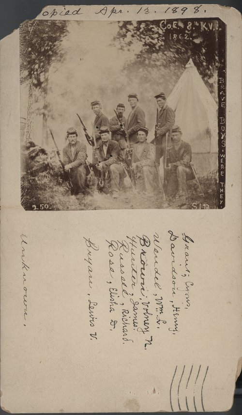 8th Kansas Volunteer Infantry - Page