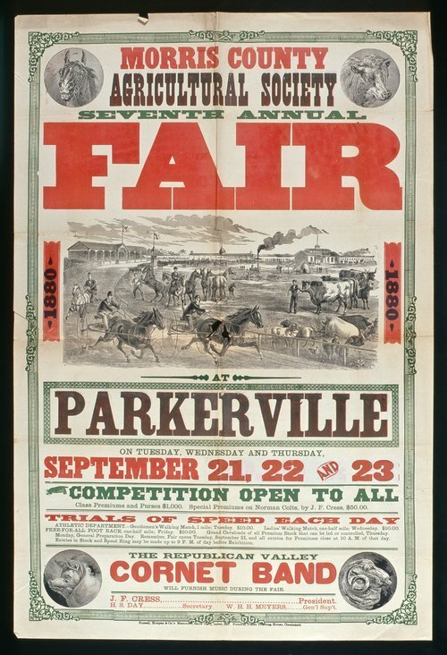 Morris County Agricultural Society seventh annual fair - Page