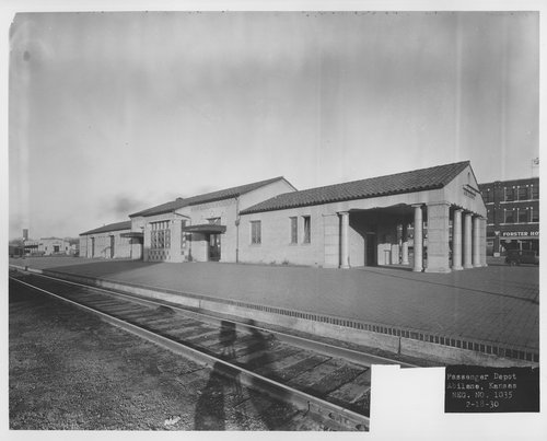 Union Pacific Railroad Company depot, Abilene, Kansas - Page