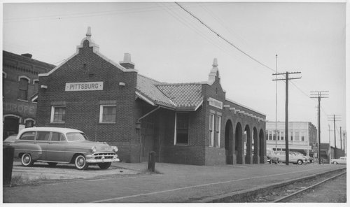 St. Louis-San Francisco Railway depot, Pittsburg, Kansas - Page