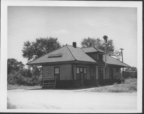 Missouri- Kansas-Texas Railroad depot, Humboldt, Kansas - Page