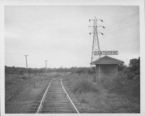 Atchison, Topeka & Santa Fe Railway Company depot, Hawthorne, Kansas - Page