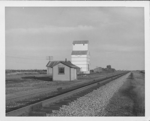 Missouri Pacific Railroad depot, Baker, Kansas - Page