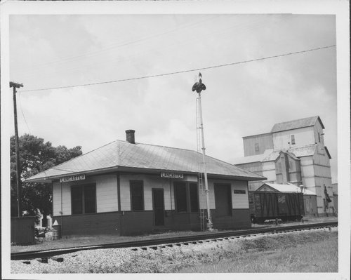 Missouri Pacific Railroad depot, Lancaster, Kansas - Page