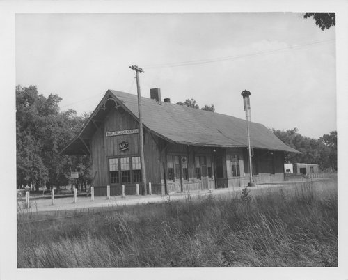 Missouri- Kansas-Texas Railroad depot, Burlington, Kansas - Page