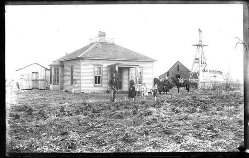Finney County homestead, between 1880 and 1900