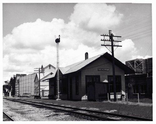 Missouri Pacific Railroad depot, Everest, Kansas - Page
