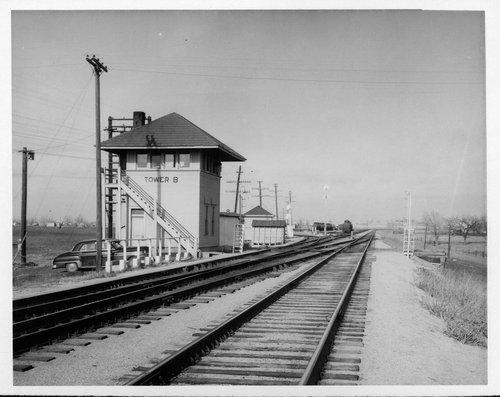 "Atchison, Topeka and Santa Fe Railway Company tower ""B"", El Dorado, Kansas - Page"