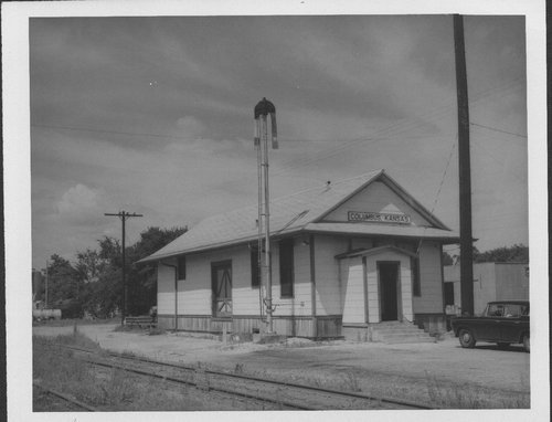 Missouri- Kansas-Texas Railroad depot, Columbus, Kansas - Page