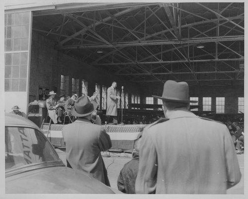 Airport dedication, Manhattan, Kansas - Page