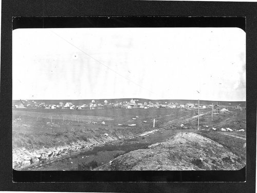 Unidentified town, possibly in Finney County, Kansas - Page