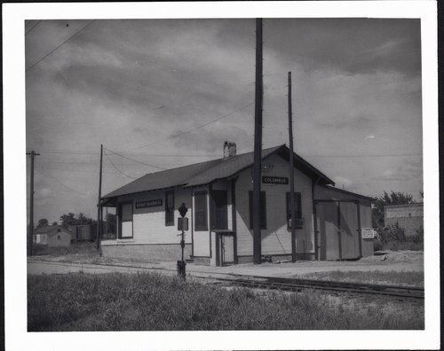 Northeast Oklahoma Railway depot, Columbus, Kansas - Page
