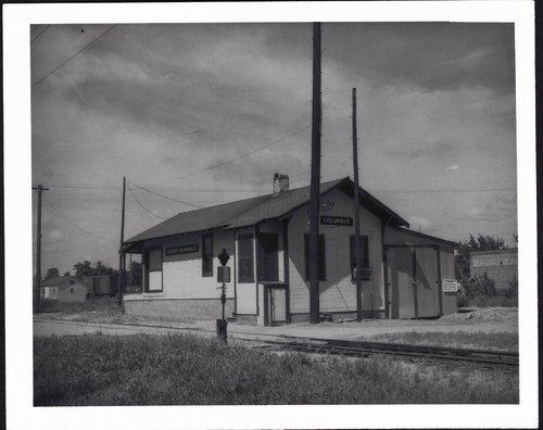Northeast Oklahoma Railway depot, Columbus, Kansas - Page