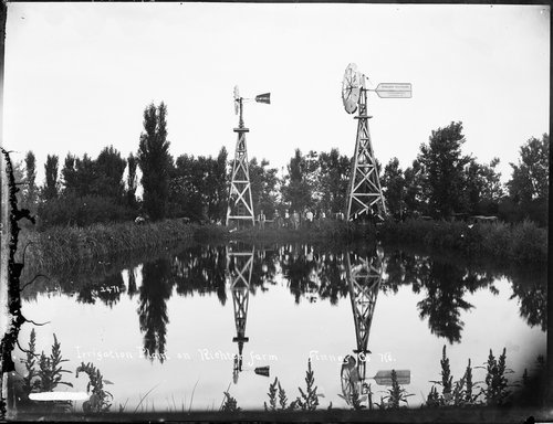 Irrigation plant on the Richter farm, Finney County, Kansas - Page