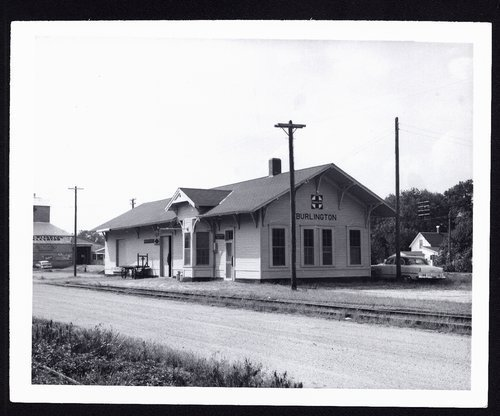 Atchison, Topeka and Santa Fe Railway Company depot, Burlington, Kansas - Page