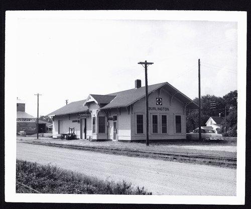Atchison, Topeka & Santa Fe Railway Company depot, Burlington, Kansas - Page