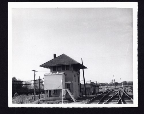 Atchison, Topeka & Santa Fe Railway Company's interlocking tower, Winfield, Kansas - Page