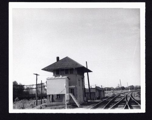 Atchison, Topeka and Santa Fe Railway Company's interlocking tower, Winfield, Kansas - Page