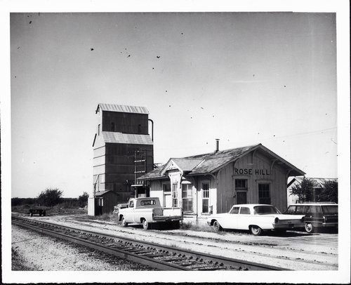 Atchison, Topeka and Santa Fe Railway Company depot, Rose Hill, Kansas - Page