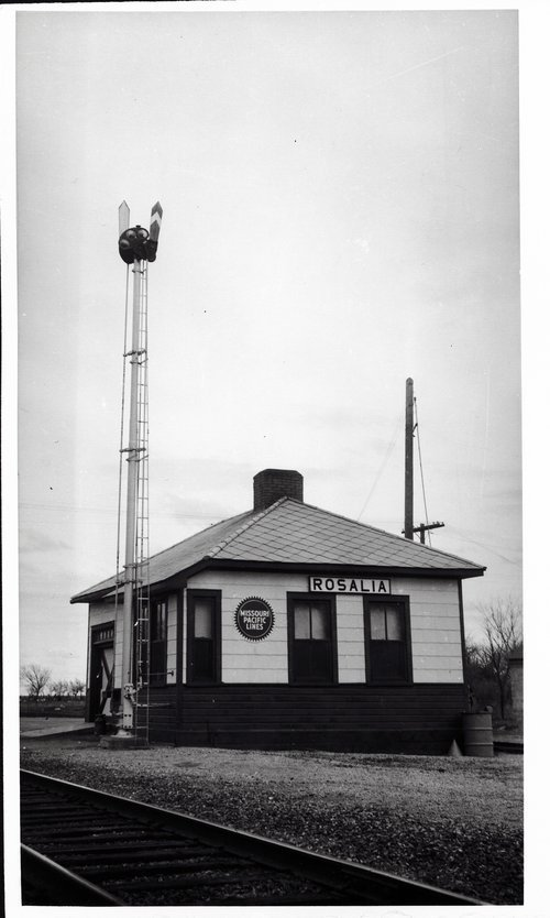 Missouri Pacific Railroad depot, Rosalia, Kansas - Page