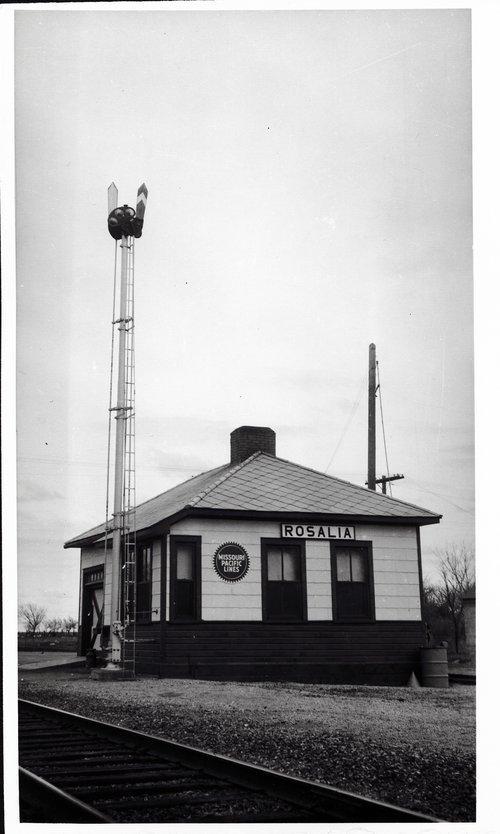 Missouri Pacific Railroad depot, Rosalia, Kansas - Page