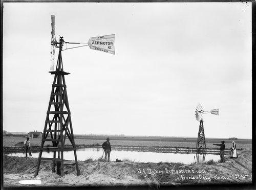 T. J. Dyke's irrigation plant, Finney County, Kansas - Page