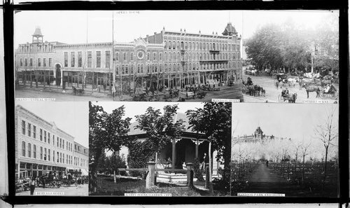 Composite showing scenes in Garden City, Kansas - Page