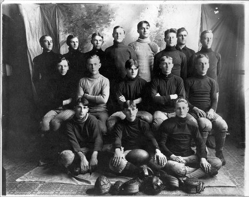Chase County High School football team, Cottonwood Falls, Kansas - Page