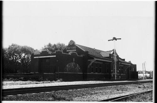 Atchison, Topeka & Santa Fe Railway Company depot, Stafford, Kansas - Page