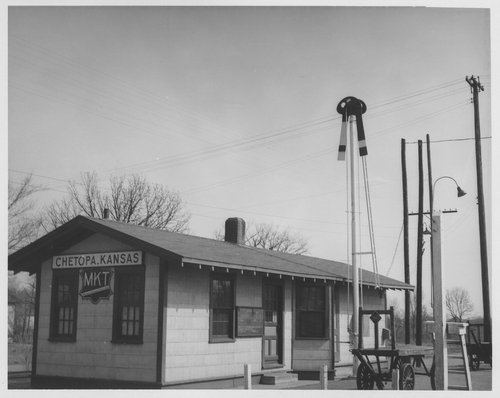 Missouri-Kansas-Texas Railroad depot, Chetopa, Kansas - Page