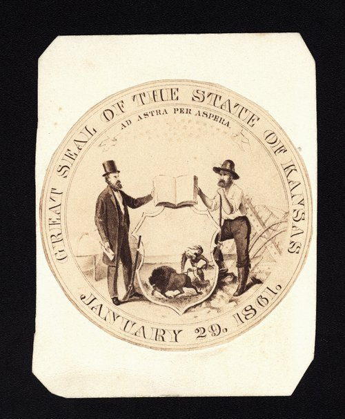 Great seal of the state of Kansas - Page