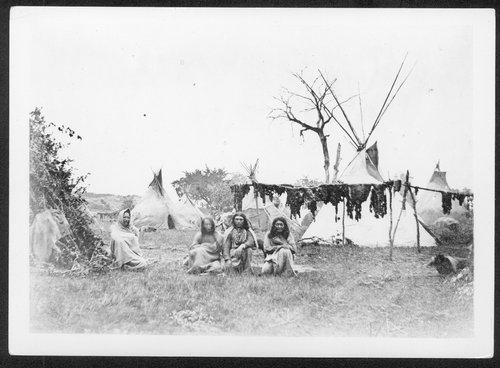 Cheyenne Indian lodges - Page